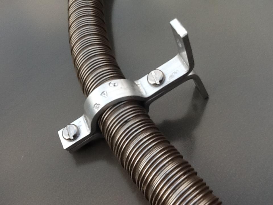 Eberspacher exhaust Pipe clamp brackets Eberspacher Pipe Bracket