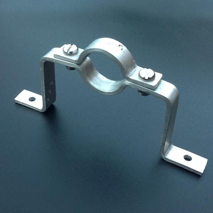 Bridge pipe clamp mm diameter stand off