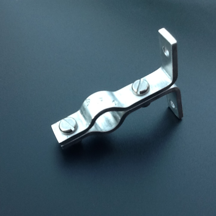 Stainless steel pipe hangers suspension brackets single
