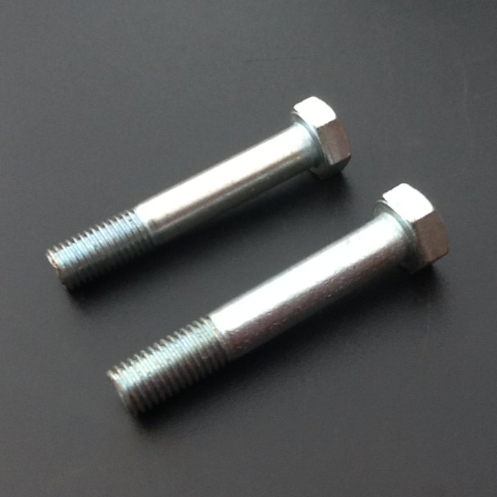 "Vintage GKN 4-5//16 x 4 1//4/"" long BSF Hex Head HT Bolts"