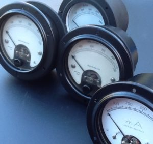 microammeters pressure gauges and milliampers