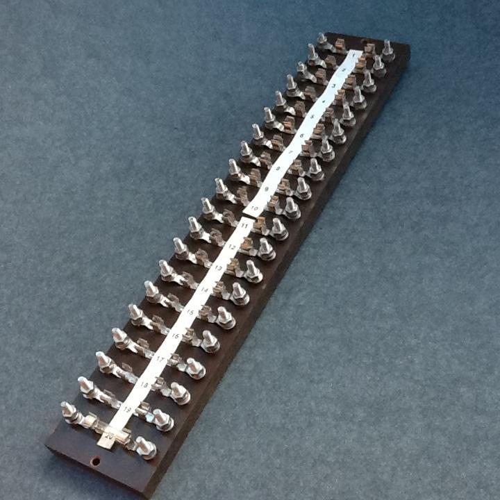 Vintage Fuse Board Fuse Panel Bmac Ltd British Made