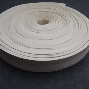 Expanded Silicone Rubber Strip White Silicone Rubber