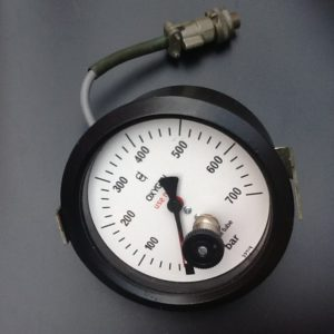 Gauge Pressure Dial Oxygen Monel Tube BS1780