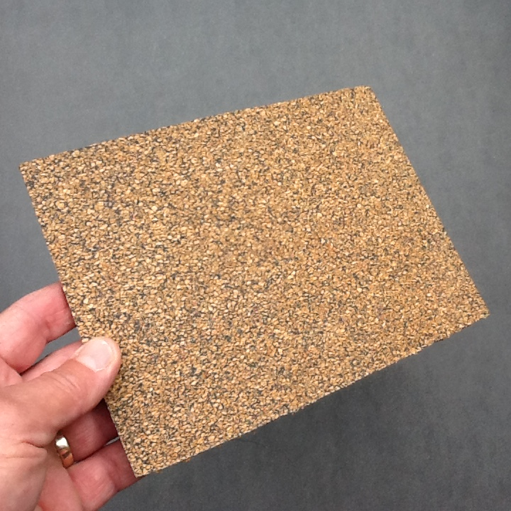 Nitrile Rubber Bonded Cork Gasket Material A5 Size