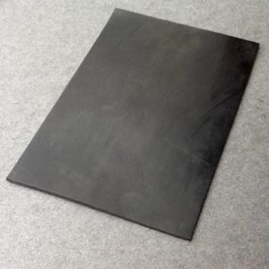 Sheet Rubber Black Solid Rubber A4 X 2mm Thick