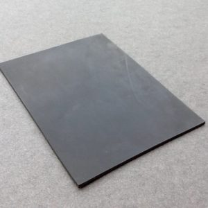 "Black Rubber Sheets 2/16"" Thick"