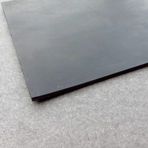 Solid Black Rubber Sheets Industrial BS2752/C50-5 mm Thick