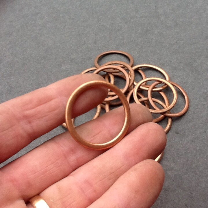 Copper Lock Washer : Copper compression washers crush washer seal