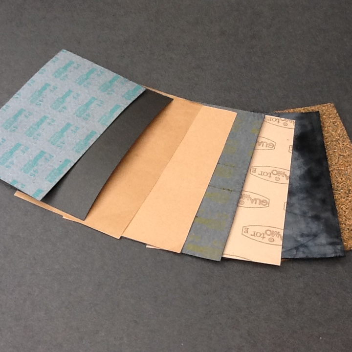 paper gasket material A high quality compressed non-asbestos gasket material  and combines the high heat resistance of refractory ceramics with the weight and resiliency of paper.