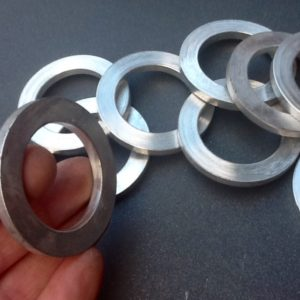 Spacer Washers Washer Spacers 5mm Thick X 38mm Inside Diameter X 57mm Outside Diameter.
