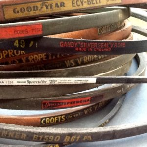 Vintage Drive Belts V Belts Fan Belts