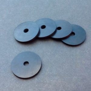 Rubber Washers 35mm OD X 7mm ID X 3mm Thick