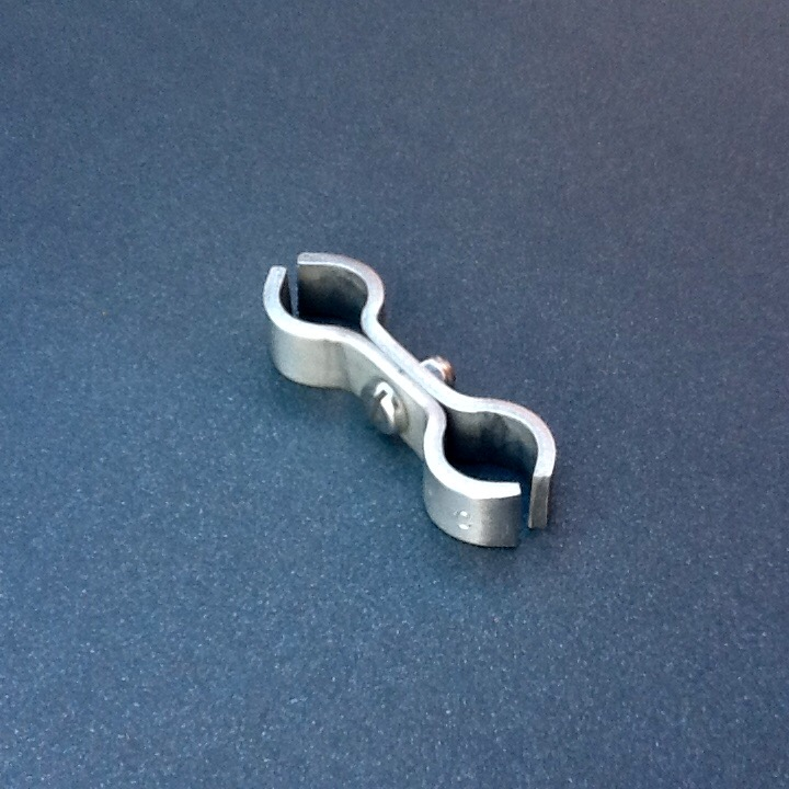 Stainless steel pipe clamps double clamp mm