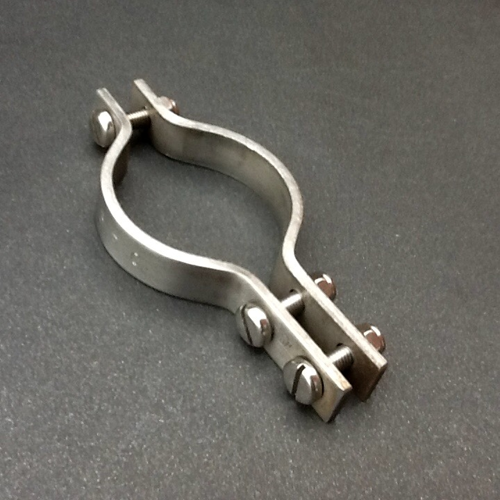 Marine engine exhaust pipe clamp stainless steel mm diameter