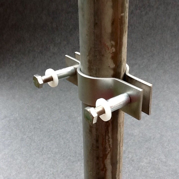 Scaffold pole floodlight bracket mm diameter