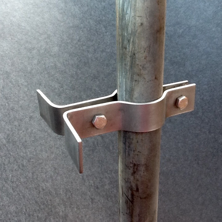 Stainless Steel Scaffolding : Scaffolding security camera pole bracket stainless steel mm